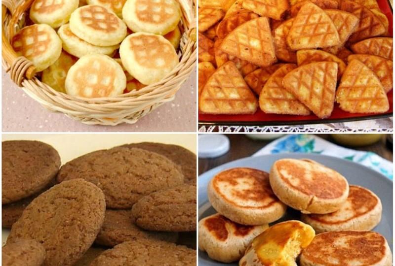 Печенье на сковороде - рецепты быстрого приготовления домашней выпечки на плите с фото