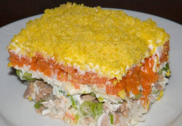мимоза салат рецепт классический пошаговый с фото