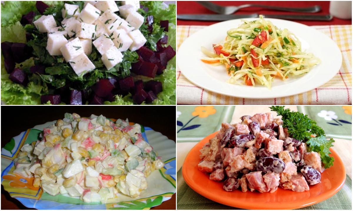 рецепты праздничных салатов пошагово с фото