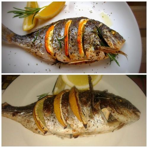 Запеченная рыба на новый год 2016