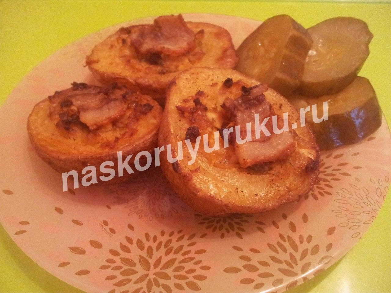 курица фаршированная картошкой рецепт с фото