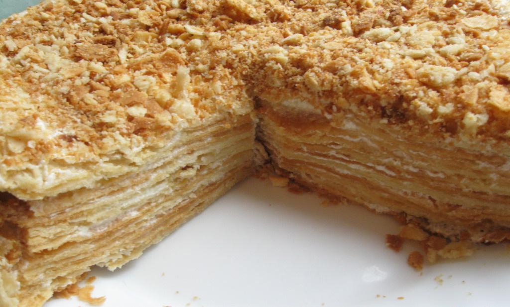 Рецепт торта наполеона в домашних условиях с фото