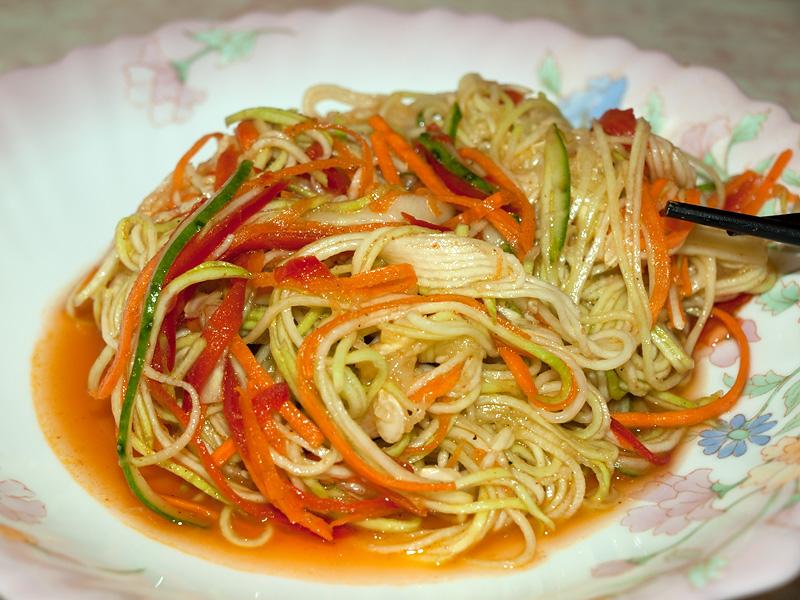 фунчоза рецепты с морковью по-корейски по шагово