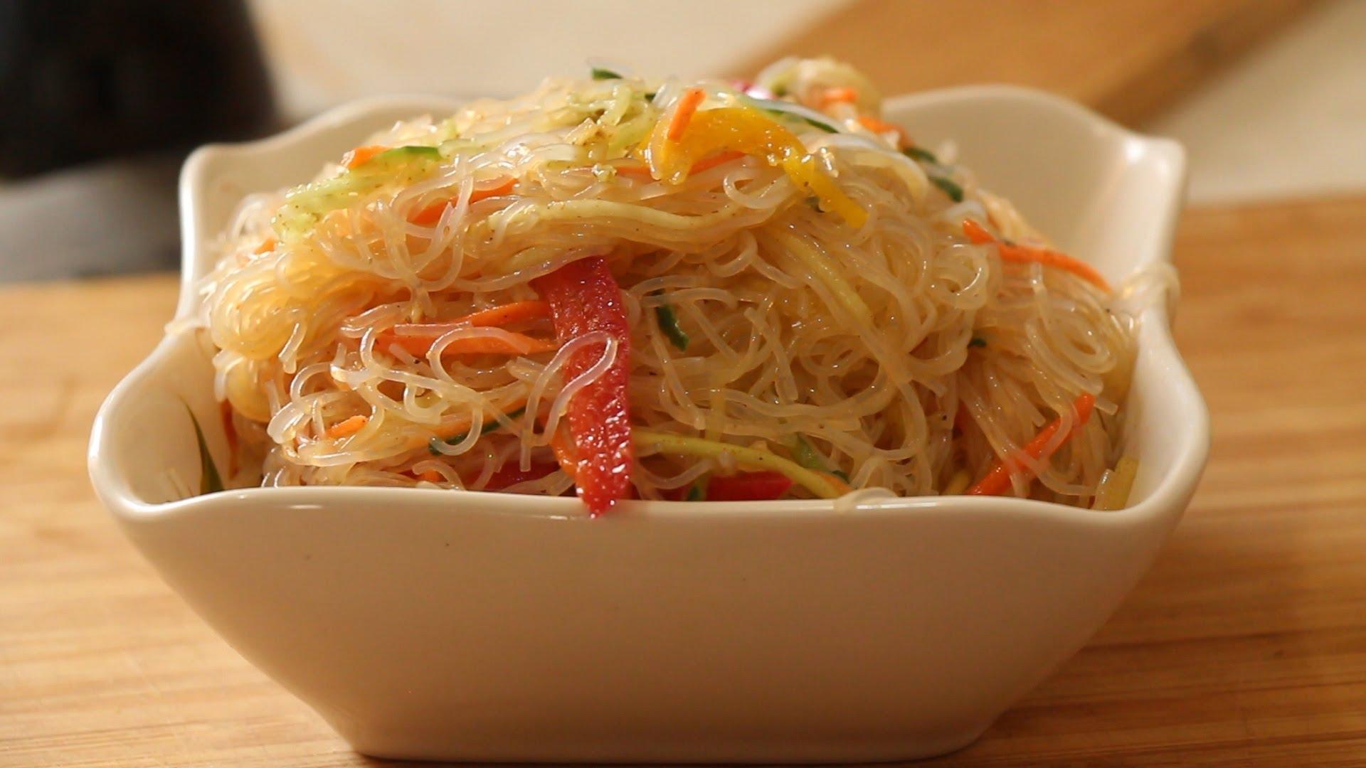 Салат фунчоза классический рецепт с фото