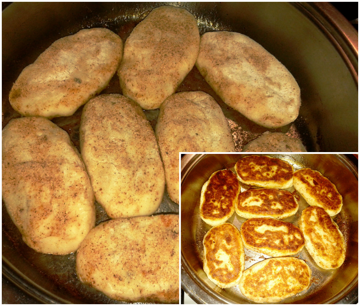 Зразы на сковороде с фото пошагово