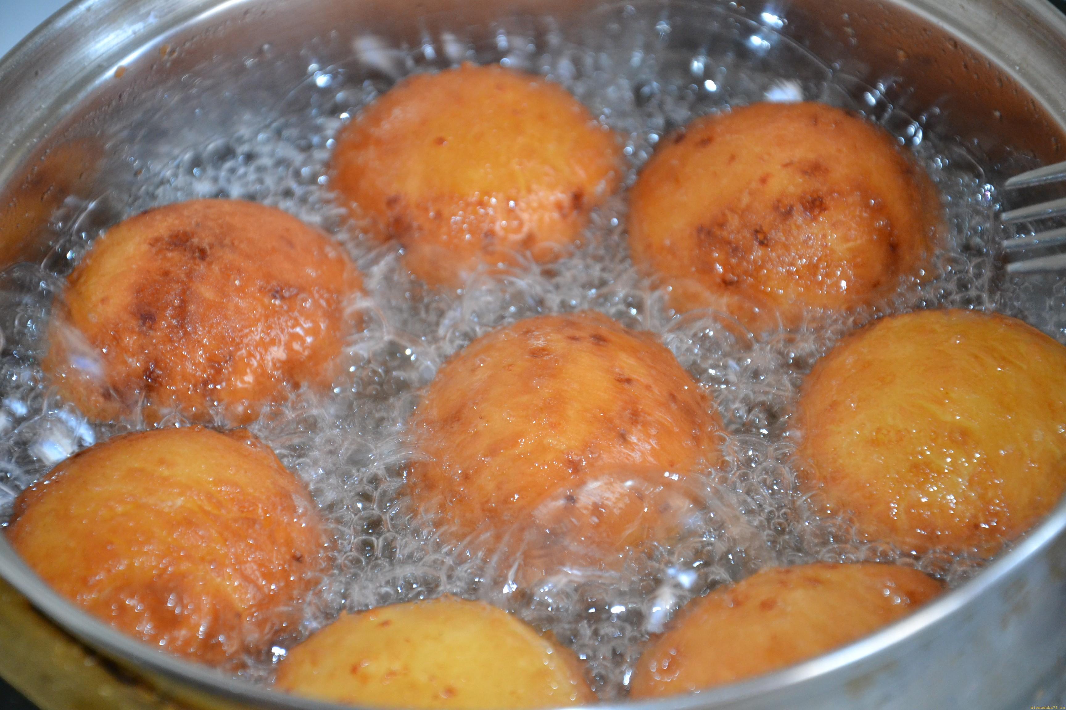 Как приготовить шарики в масле