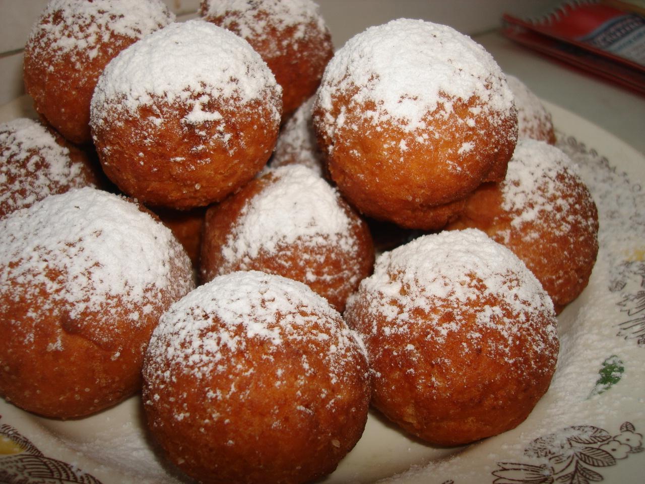пошагово фото рецепт творожные пончики
