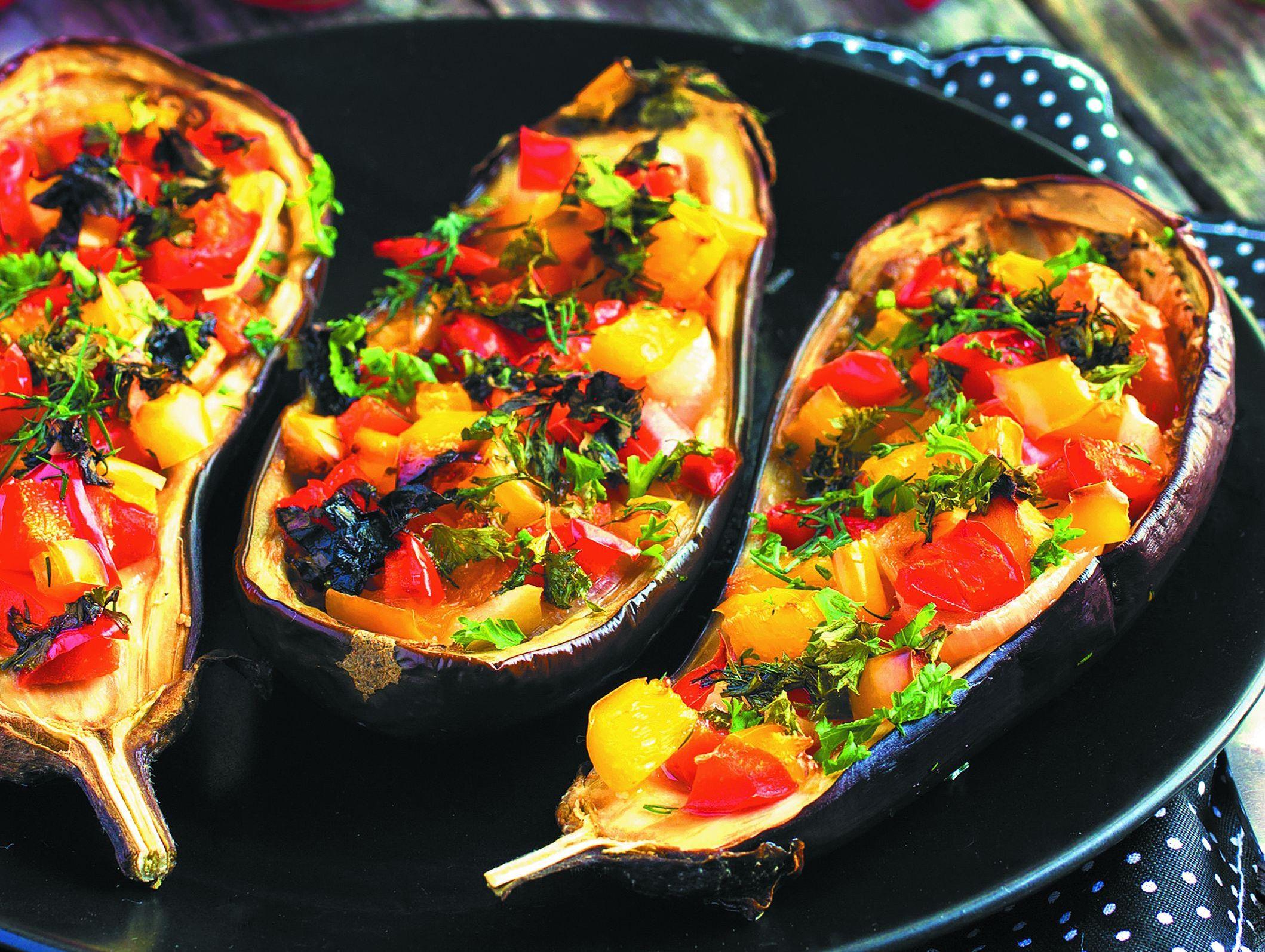 Овощные блюда запеченные в духовке рецепты